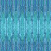 Feather Stripe Deep Blue  - Original