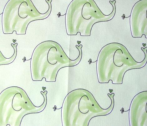 Spring Green Elephant