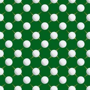 Golf Ball Fabric Wallpaper Gift Wrap