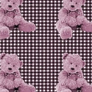 scruffy teddy-pink
