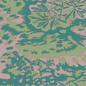 Palm Camo Palmenmuster Alternate Spring Colors