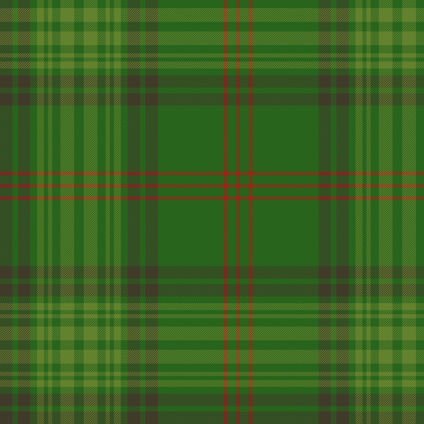 Ross clan hunting tartan (1820) fabric by weavingmajor on Spoonflower - custom fabric