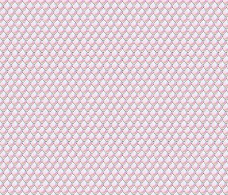 dragon scales fabric by indigo_iris on Spoonflower - custom fabric