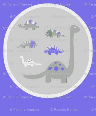 Dinosaurs_blue bubbles