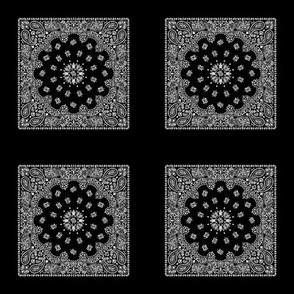 Minidanna A-Black & White