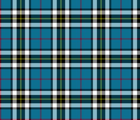 Thomson / Thompson / MacTavish tartan fabric by weavingmajor on Spoonflower - custom fabric