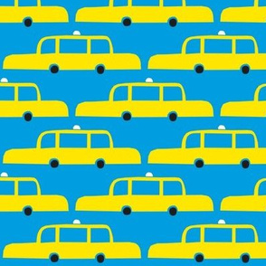 NYC Taxis Blue