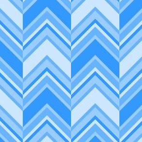binary chevron - azure blue