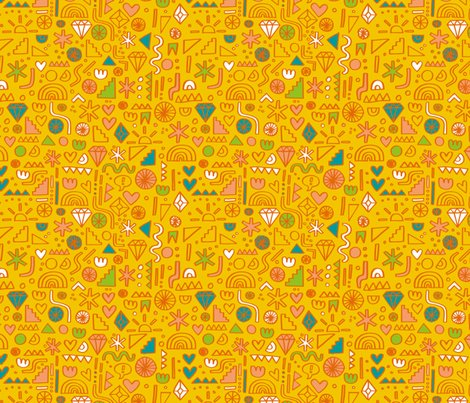Ramywalters_doodle_pattern_flat_tile_yellow_rgb_shop_preview