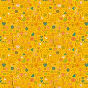 Ramywalters_doodle_pattern_flat_tile_yellow_rgb_shop_thumb