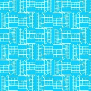 Suga Lane Grid #17 turquoise_dwn