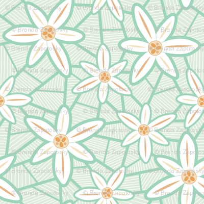 Lilies (Mint)