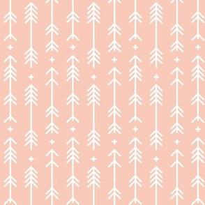 cross plus arrows blush - half scale