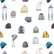 Hats- Golden Blue
