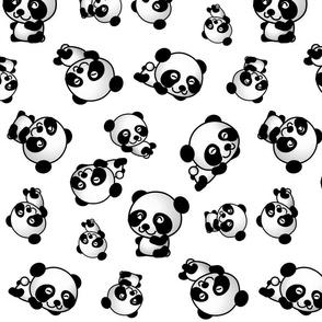 TUMBLING PANDAS