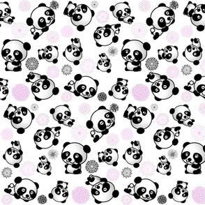SPIRALING PANDAS