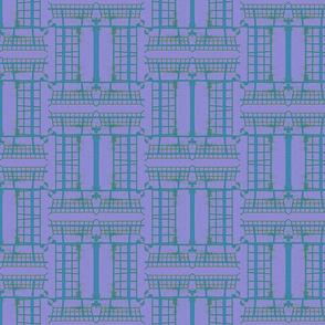 Suga Lane Grid #12_turquoise_sky