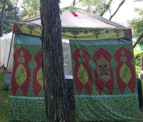 Tent Border