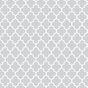 quatrefoil MED light grey