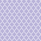 quatrefoil MED light purple