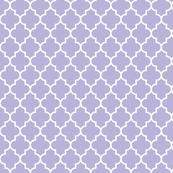 quatrefoil MED light purple
