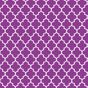 quatrefoil MED grape