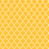 quatrefoil MED golden honey