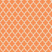 quatrefoil MED tangerine