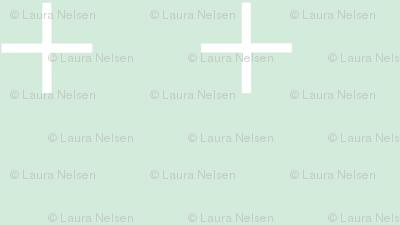 Medium Swiss Cross-mint