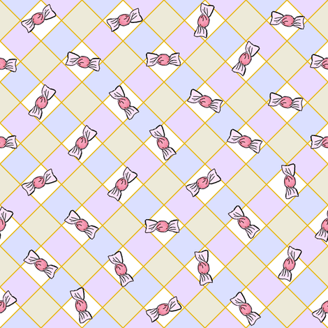 CandyGrid_Pastel_V-W-C-B fabric by espressobug on Spoonflower - custom fabric