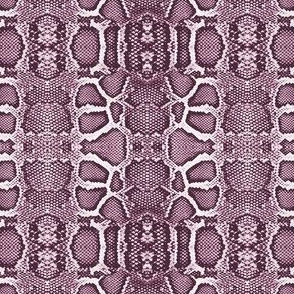 snake checkerboard-pink