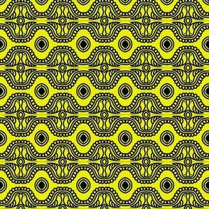 Canary Kisses Yellow Black