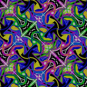 Pinwheel Chaos