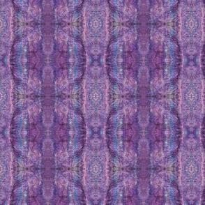 purples/blue wet felt mirrored