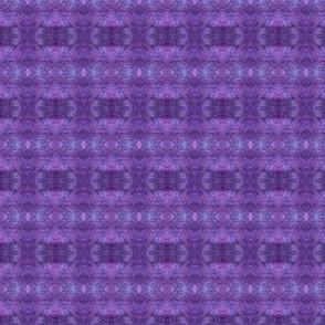 purple wet felt mirrored