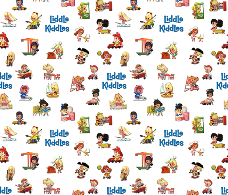 KiddlyMOCWhiteWithBeat fabric by d10 on Spoonflower - custom fabric