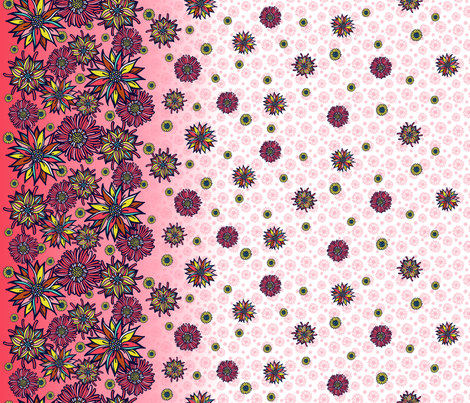 Let's Fleurt! fabric by celiaforrester on Spoonflower - custom fabric