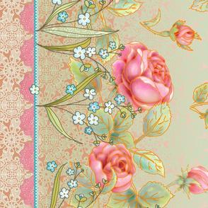 Mother's day rose garden border design 2