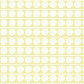 sea shells - sunwashed yellow