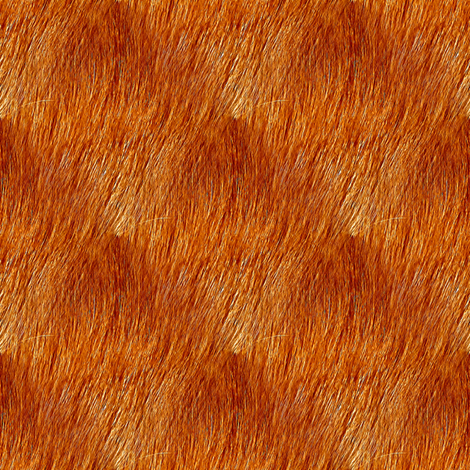 Golden Fur fabric by arts_and_herbs on Spoonflower - custom fabric