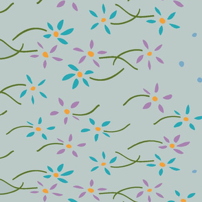 ditsy spring floral