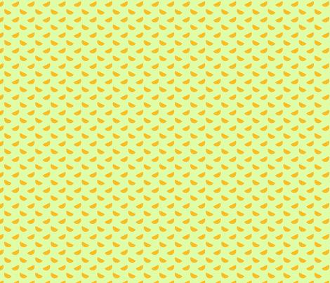 tangerine_grass fabric by littlerhodydesign on Spoonflower - custom fabric
