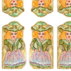 Natasha-joy edith-joy patterns and kits  needle sewing kit