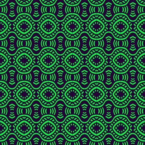 Vegas Casino Green Black fabric by eve_catt_art on Spoonflower - custom fabric