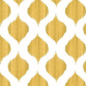 Small Scale Lela Ikat in Gold