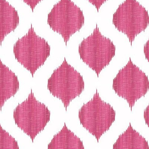 Small Scale Lela Ikat in Fuschia