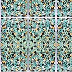 Suga Lane Dimensions II Turquoise blk