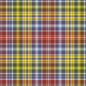 Waggrall family tartan - autumn colors