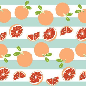 grapefruit with stripes (two directional)