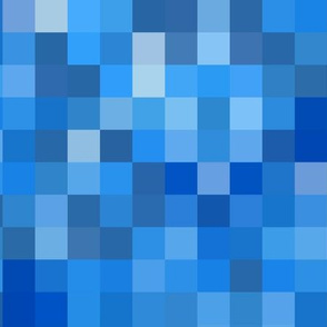 Pixel Party / Blue